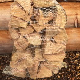 bag of softwood logs