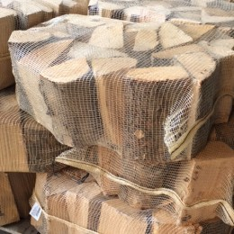 pallet of logs
